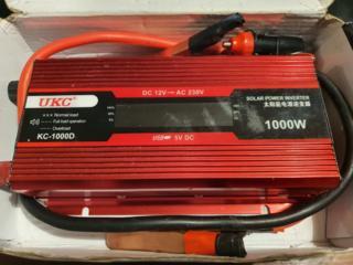 Преобразователь авто инвертор 12V-220V 1000W LCD UKC KC-1000D c с дисп