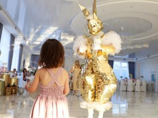 Зеркальный заяц! Интерактивная фотозона! Встреча гостей на свадьбе!