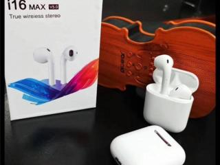 Беспроводные Bluetooth наушники I16 TWS (сенсорные)