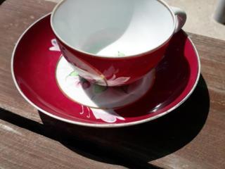 Чайная пара Гарднер 1880-1910 года
