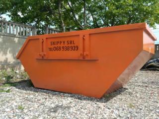 """Вывоз мусора контейнером!!! 8 м3 """"Skippy"""" SRL"""