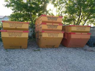 "Evacuarea deșeurilor(gunoi) de construcție containere 8m3 ""Skippy"" SRL"