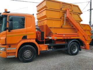 Вывоз строительного мусора контейнерами и услуги экскаватора