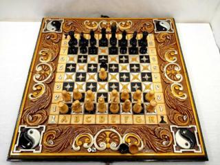 Нарды резные шахматы*Инь Янь*эксклюзив.