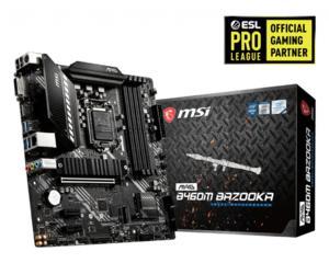 MSI MAG B460M BAZOOKA mATX Socket 1200 Intel B460