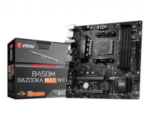 MSI B450M BAZOOKA MAX WIFI mATX Socket AM4 AMD B450