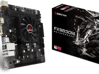 Biostar FX9830M + AMD FX-9830P mATX