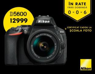 NIKON D5600 + Nikkor 18-55VR KIT << WINTER PROMO TILL 17.01.2021