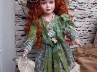 Декоративные керамические немецкие куклы