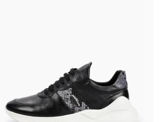 Новые! Крутые кроссовки из натуральной кожи!