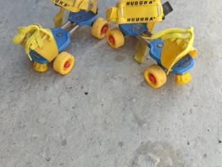 Ролики 4-х колесные детские. Размер 15-20 см