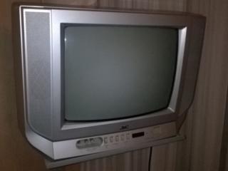 Телевизор JVC AV-1434 EE + Кронштейн для телевизора на стену
