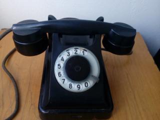 Старинный телефон (рабочий)