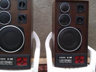 Колонки S-90 и колонки Электроника -012, магнитофон Орель 101