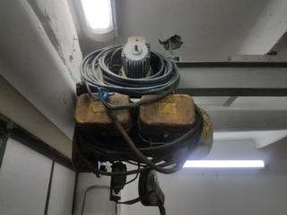 Тельфер (таль) 0,5 т, электрический тэ 050-71120, 220/380в