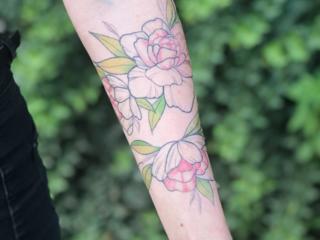 Художественная татуировка, в студии - стерильно, качественно.