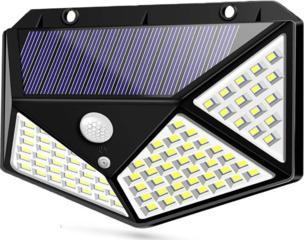 Продам уличный настенный светодиодный фонарь на солнечной батарее 250р
