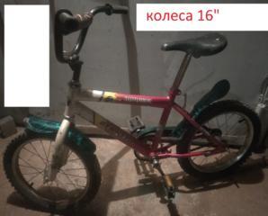 Продам детский велосипед, колеса 16'', дешево