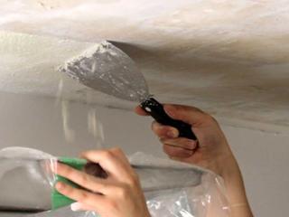 Чистим стены и потолки