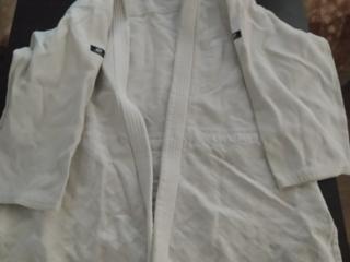 Куртка для самбо. Куртка Белая. Рост 190.