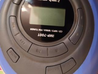 Iriver IMP-700T cамый крутой MP3 CD плеер для дисков!!!
