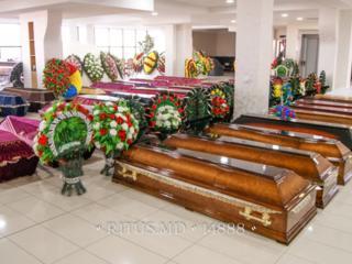 Гробы деревянные, гробы обитые тканью, элитные саркофаги. 100+ моделей