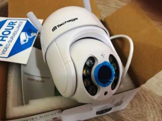 Уличная поворотная IP WiFi AI Human камера 1080P. PTZ c автослежением