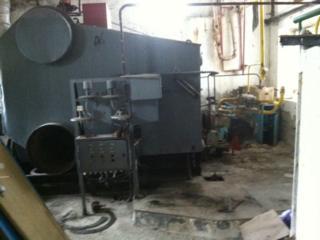 Паровой промышленный газовый котел 1000 кг\ч