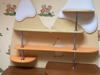 Детская комната в комплекте (кровать, стеллаж, подвесная полка