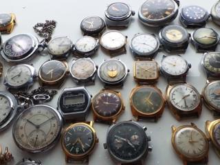 Куплю Часы времен СССР. Запчасти.