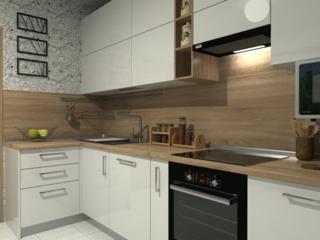 Кухни на заказ и другая мебель. Установка бытовой техники.