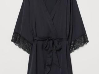 Новый шёлковый халат HM