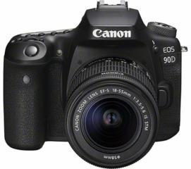Canon EOS 90D DSLR  + 18-55 IS STM /