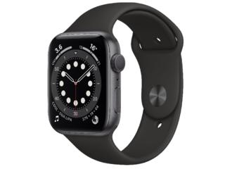 Apple Watch Series 6 GPS 44mm Space Gray Aluminum Case with Black Spor