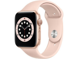 Apple Watch Series 6 GPS 44mm Gold Aluminum Case with Pink Sand Sport