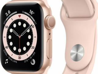 Apple Watch Series 6 GPS 40mm Gold Aluminum Case with Pink Sand Sport