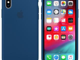 Apple Original iPhone XS Silicone Case /