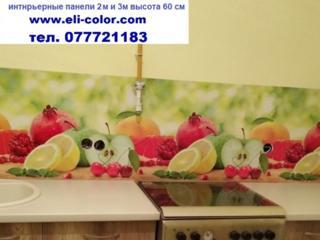 Кухонные фартуки и ПВХ панели