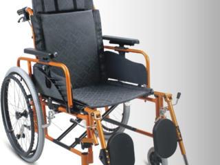 Carucior invalizi din aluminium cu spatar reglabil Инвалидная коляска
