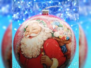 Рождественские шары.