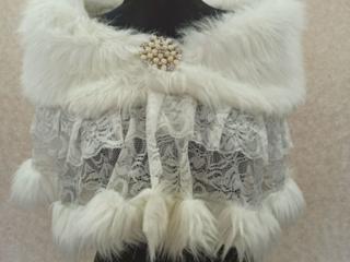 Свадебные накидки, шубки: прокат, продажа. от 100 рублей.