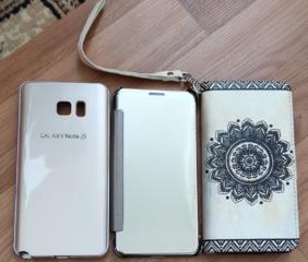 Продам чехлы к телефону Samsung Note 5