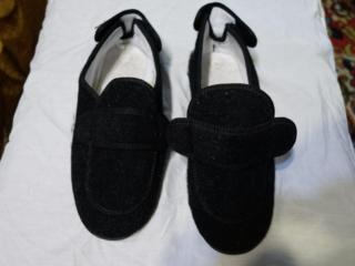 Тапочки войлочные, на липучках, 44 размер.