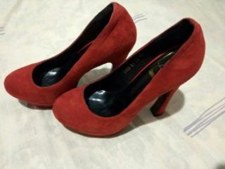 Продаю новые женские туфли, тёмно - красного цвета, размер 37.