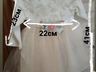 Продам новое детское платье. Ободок в подарок