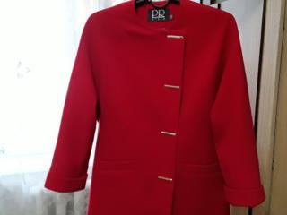 Оригинальное женское шерстяное пальто
