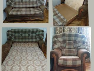 Продам софу и кресло, торг.