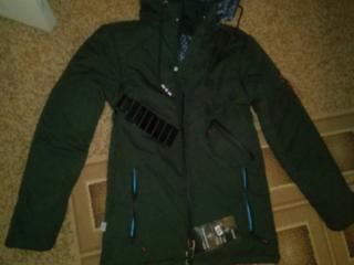 Новая зимняя куртка на мальчика 300р