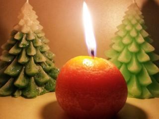 Свечи!! Новогодняя сказка!