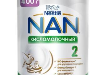 Смесь NAN 2 кисломолочная 400 гр
